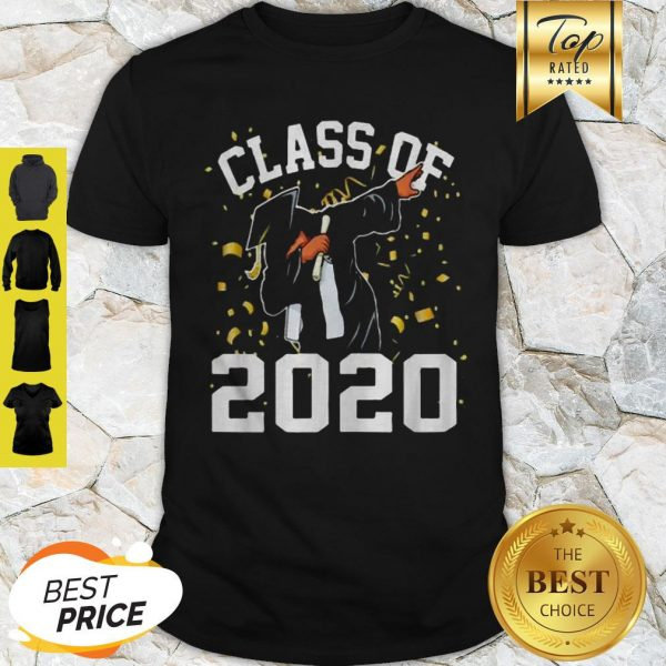 Dabbing Graduation Senior Class 2020 Coronavirus Shirt