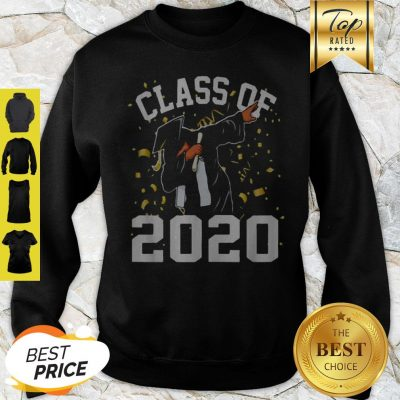 Dabbing Graduation Senior Class 2020 Coronavirus Sweatshirt
