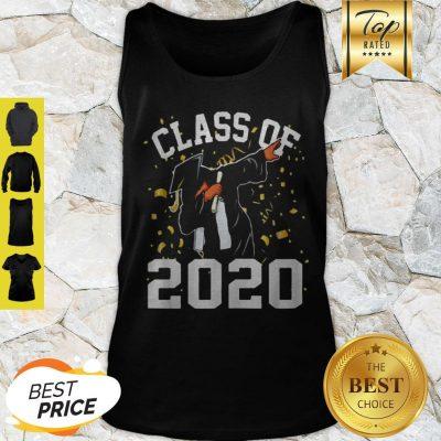 Dabbing Graduation Senior Class 2020 Coronavirus Tank Top