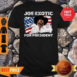 Joe Exotic For President 2020 American Flag Tiger King Shirt