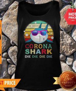 Official Corona Shark Die Die Die Die Vintage Tank Top