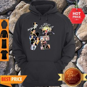 Official Love Rod Stewart Signature Hoodie