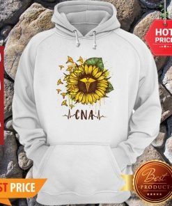 Sunflower Certified Nursing Assistant CNA Hoodie