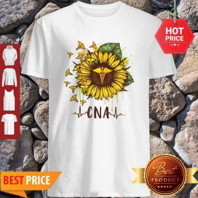 Sunflower Certified Nursing Assistant CNA Shirt