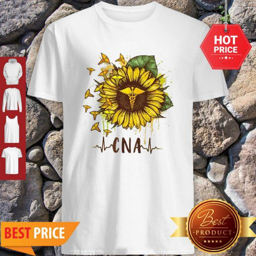 Sunflower Certified Nursing Assistant CNA Shirt