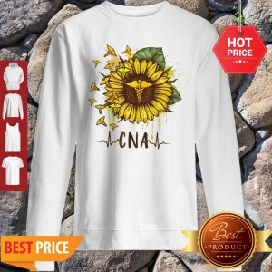 Sunflower Certified Nursing Assistant CNA Sweatshirt