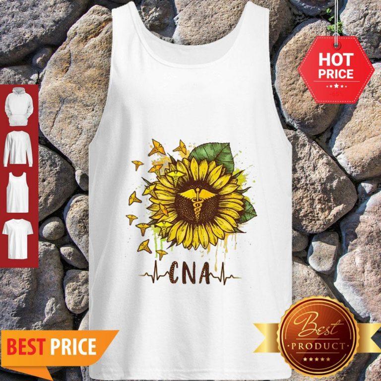 Sunflower Certified Nursing Assistant CNA Tank Top