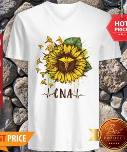 Sunflower Certified Nursing Assistant CNA V-neck