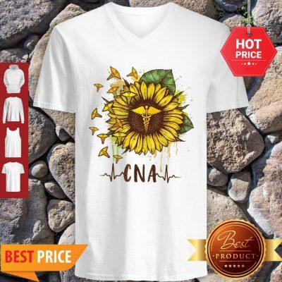 Sunflower Certified Nursing Assistant CNA V-neck