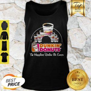 Walt Disney Dunkin' Donuts The Happiest Drink On Earth Tank Top