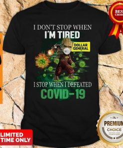 Baby Groot Dollar General I Stop When I Defeated Covid-19 Shirt