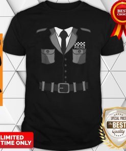 British Policeman Bobby Copper Cool Halloween Costume Shirt