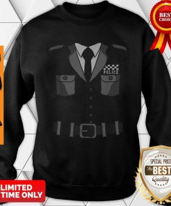 British Policeman Bobby Copper Cool Halloween Costume Sweatshirt