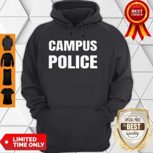 Campus Police Officer University Policeman Security Uniform Hoodie