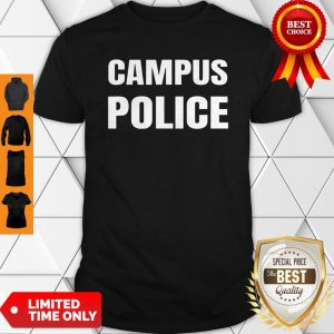 Campus Police Officer University Policeman Security Uniform Shirt