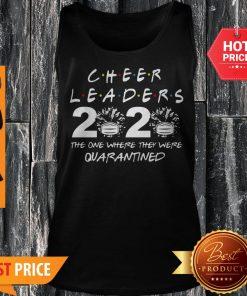 Cheerleader 2020 The One Where They Were Quarantined Coronavirus Tank Top