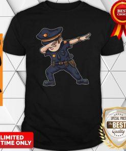 Dabbing Police Funny Policeman Dab Dance Law Enforcer Corps Shirt
