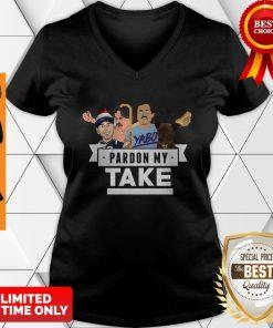 Good Pardon My Take Yabo V-neck