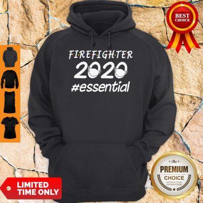 Top Firefighter 2020 Mask Essential Hoodie