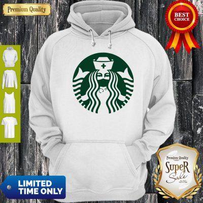 Premium Starbuck Coffee Mask Nurse Hoodie