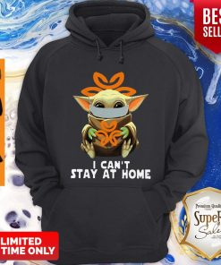 Top Star Wars Baby Yoda Face Mask Hug Dignity Health I Can't Stay At Home Hoodie