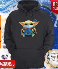 Premium Star Wars Baby Yoda Face Mask Hug Albertsons Hoodie