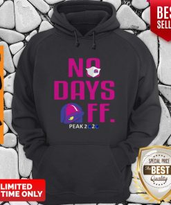 Official No Day OFF Peak 2020 Bell Mask Hoodie