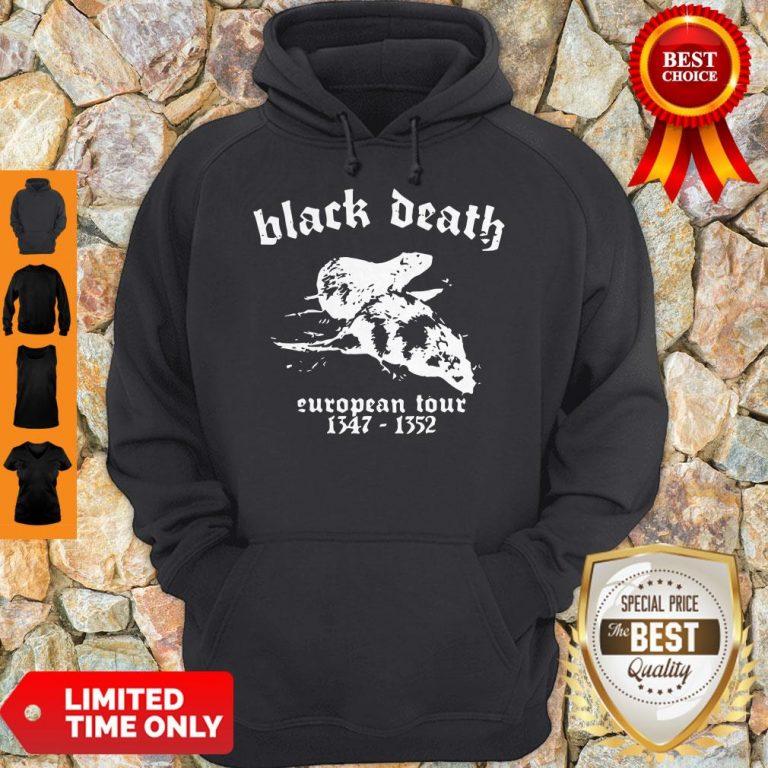 Premium Black Death European Tour 1347 - 1352 Hoodie