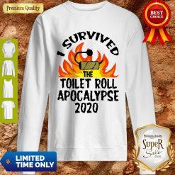 I Survived The Toilet Roll Apocalypse 2020 Toilet Paper Sweatshirt