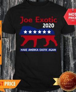 Joe Exotic Tiger King Make American Exotic Again Shirt