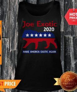Joe Exotic Tiger King Make American Exotic Again Tank Top