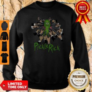 John Wick Rick And Morty John Rick Sweatshirt