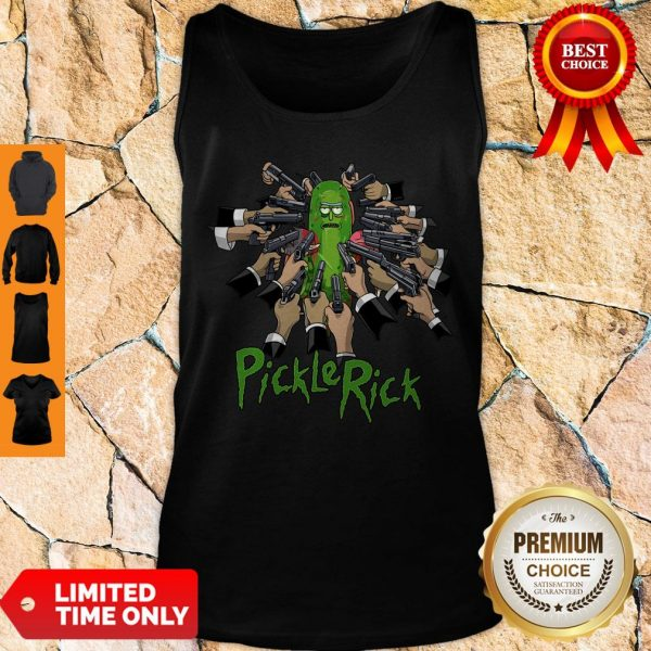 John Wick Rick And Morty John Rick Tank Top
