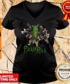 John Wick Rick And Morty John Rick V-neck