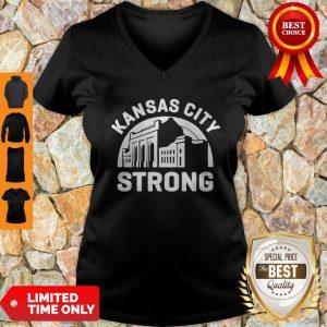 Kansas City Strong Fundraising V-neck