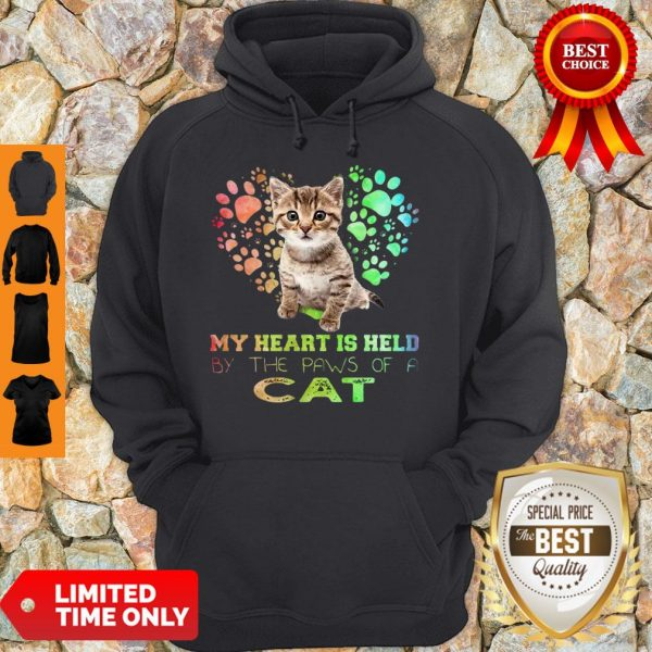 My Heart Is Held By The Paws Of A Cat Hoodie
