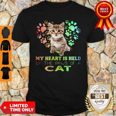 My Heart Is Held By The Paws Of A Cat Shirt
