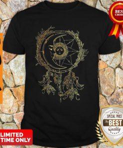 Nice Moon Sun Dream Catcher Shirt