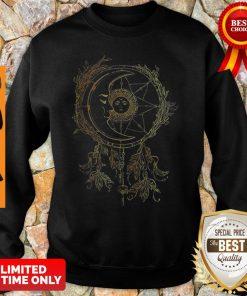Nice Moon Sun Dream Catcher Sweatshirt