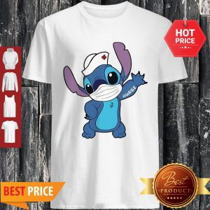 Nice Stitch Nurse Face Mask Tattoos Shirt