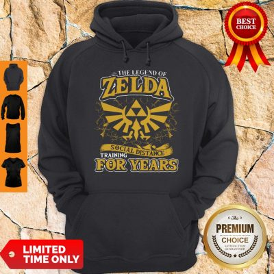 Nice The Legend Of Zelda Social Distance Training For Years Hoodie
