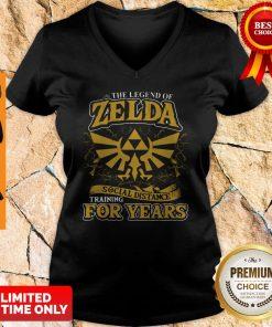 Nice The Legend Of Zelda Social Distance Training For Years V-neck