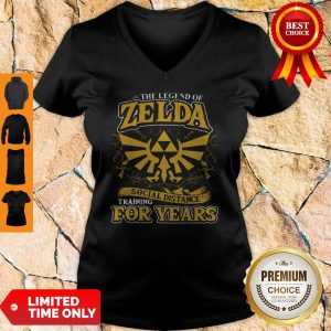 Nice The Legend Of Zelda Social Distance Training For Years V-neck