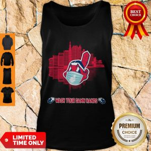 Nice Wash Your Damn Hands Cleveland Indians Tank Top