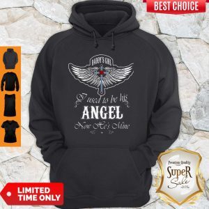 Nice Wings Cross Daddy's Hoodie