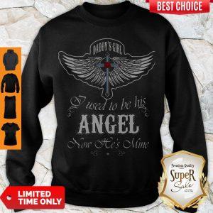 Nice Wings Cross Daddy's Sweatshirt