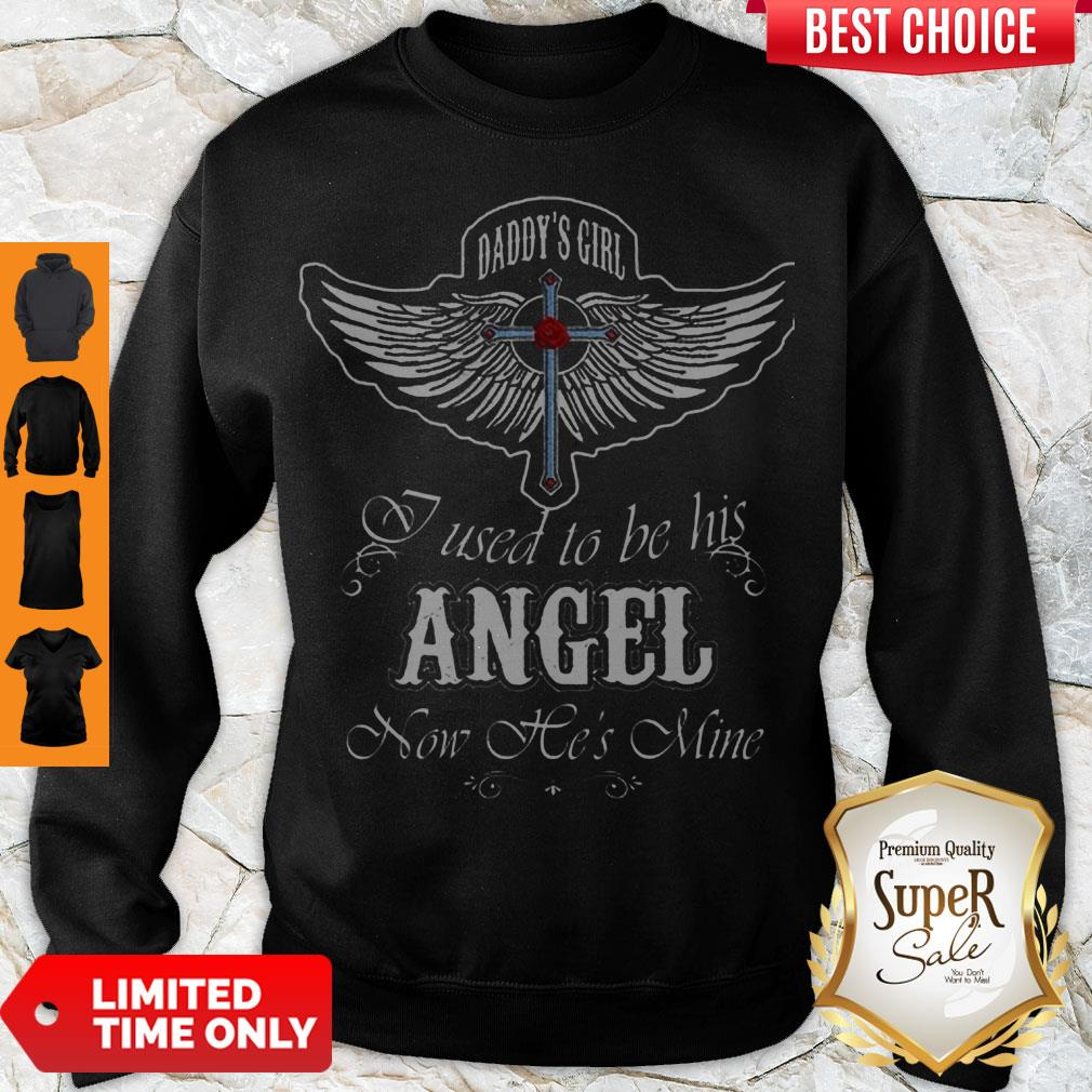 Nice Wings Cross Daddy's Sweatshirt