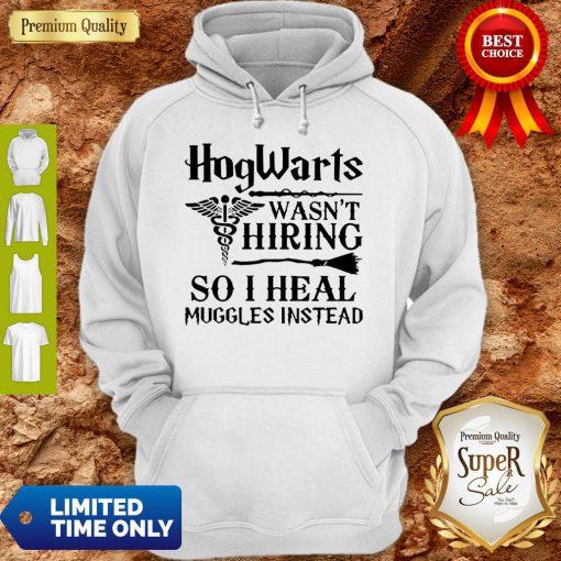 Nurse Hogwarts Wasn't Hiring So I Heal Muggles Instead Hoodie
