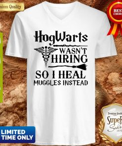 Nurse Hogwarts Wasn't Hiring So I Heal Muggles Instead V-neck