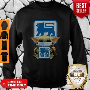 Official Baby Yoda Food Lion Coronavirus Sweatshirt